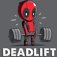 Deadlift T-Shirt Marvel TeeTurtle