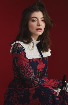 but who cares, still the Louvre — Lorde for Stellar magazine