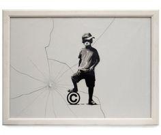 Streetart: New Banksy Artworks (15 Pictures) > Illustrationen, Paintings, Sculptures, Streetstyle, urban art > artist, banksy, king, new stuff, public art, streetart, uk