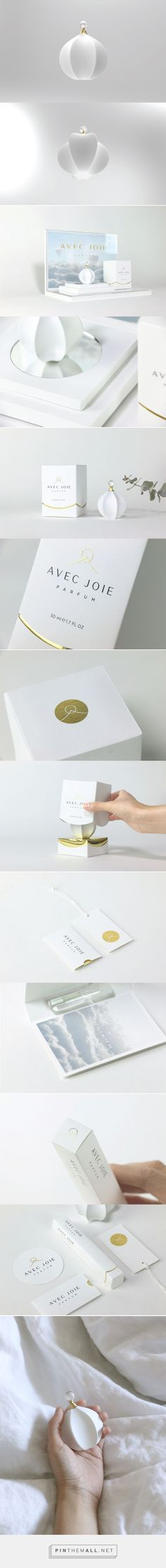 AVEC JOIE Fragrance packaging design concept by Yu-Jia Huang - http://www.packagingoftheworld.com/2017/03/avec-joie-fragrance-student-project.html
