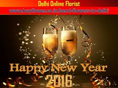 Happy New Year 2016 Send #Flowers, #Sweets, #DryFruits, #Toys to Your #Lovers By http://www.buyflower.co.in/send-flowers-to-delhi