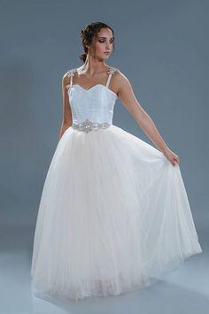 Floor Length Tulle Skirt   Wedding Dress by StaysiLeeCouture