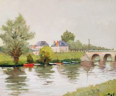 """dyf marcel bank of the river near nantes (from <a href=""""http://www.oldpainters.org/picture.php?/24685/category/11484""""></a>)"""
