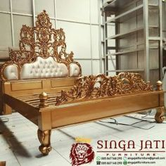 Jual Tempat Tidur Ukir Kayu Jati Ranjang Ukir Minimalis Modern -