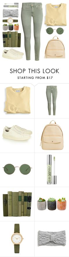 """Olive and yellow ⭐🌟🍁 Thank you so much @polyvore for the second Top Set"" by naomy-nona ❤ liked on Polyvore featuring Blair, Tom Ford, Skagen, The Row, Urban Decay, Shop Succulents and Tommy Hilfiger"