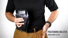 """This is FAQ - Positioning the Holster"""" by Urban Carry Holsters on Vimeo, the home for high quality videos and the people who love them. Urban Carry, Paddle Holster, Best Concealed Carry, Handgun, Holsters, Guns, Positivity, Nice, Modern"""