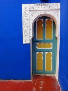 Morocco color -- love this color scheme