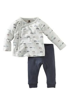 Tea Collection Kimono Top & Pants (Baby Boys) available at #Nordstrom
