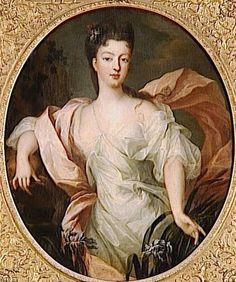 Gobert: Portrait of Louise Diane d'Orléans, princesse de Conti en Iris Bourbon, Ludwig Xiv, Iris, French Royalty, Family Of Origin, French History, Mystery Of History, Herzog, Portraits