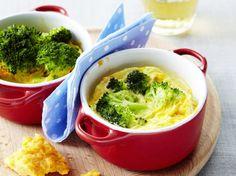 Broccoli-flan, lekker en gevarieerd Omelet, Flan, Mashed Potatoes, Macaroni And Cheese, Appetizers, Chicken, Vegetables, Ethnic Recipes, Mugs