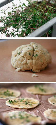Thymiancracker Yummy Snacks, Starters, Crackers, Stuffed Mushrooms, Vegetables, Desserts, Recipes, Party, Vegetarian Cooking