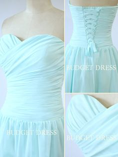 Short Bridesmaid Dress with Sweetheart Neckline by BudgetDress