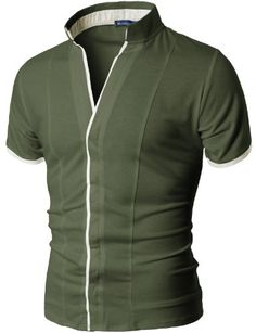 Doublju Mens V-neck China Collar Shirt with Hidden Placket KHAKI S (DT06) Doublju http://www.amazon.co.uk/dp/B009VPEGDC/ref=cm_sw_r_pi_dp_Cqy.ub0AJ8XRC