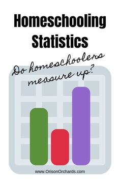 Are you looking for homeschooling statistics to help you decide whether or not to homeschool your children? I've compiled several that should help! Homeschool High School, Homeschool Kindergarten, Homeschool Curriculum, Preschool, Homeschooling Statistics, Homeschooling Resources, Teacher Resources, Learning Activities, Kids Learning