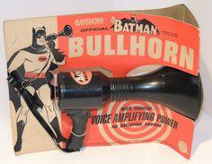 1966 Batman Bayshore Bullhorn MOC Vintage | eBay