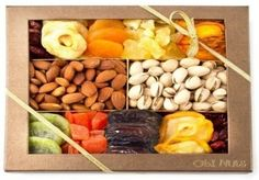 <html><body><p>Here's the <strong>Oh! Nuts - Nut and dried fruit gift box tray</strong>. A healthy peanut snack gift box which is a great gift for the health conscious people out there! And should hit that gift-giving spot perfectly this Christmas of