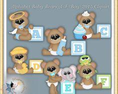 Clipart Herbst Herbst Teddybären Happy Herbst von MagicmakerScraps