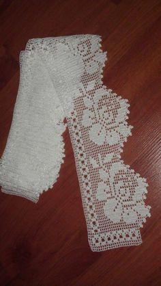 Thread crochet magazines to re Filet Crochet, Crochet Lace Edging, Crochet Borders, Crochet Art, Thread Crochet, Love Crochet, Crochet Stitches, Lace Doilies, Crochet Doilies