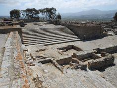 Palazzo di Festo. 1600-1450 a.C. Isola di Creta