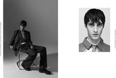 Paul at Premium shot by Nagib Chtaib and styled by Michael Marson, for the latest issue of Hunter magazine. Make-up & Hair: Emilie Koot Casting Director: Maxence Orard Photo Assistant Xavier Bourgeois