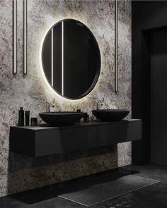 Awesome 17 Beegcom Best Furniture Shop In Laguna, The Best Interior Design University In Usa Bathroom Goals, Small Bathroom, Master Bathroom, Neutral Bathroom, Bathroom Storage, Bathroom Black, Bathroom Plants, Bathroom Ideas, Home Decor Instagram