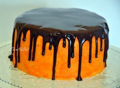 Sweet and not Sweet: Шоколадно-тыквенный торт