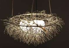 Bird Nest Light Chandelier