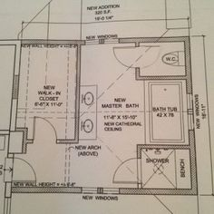 Master Bathroom Dimension Layouts Planning Key To Get Guide In Category