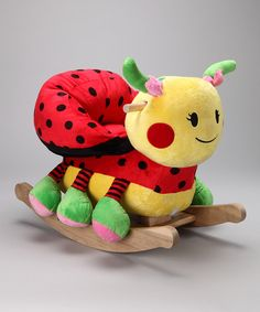 Take a look at this Lulu Ladybug Rocker on zulily today!