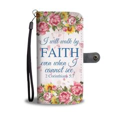 Christian wallet phone case with bible verse 2 Corinthians and Psalm bible verse christian wallet phone case makes a perfect christian gifts for mother, grandmother, for grandma and your loved one Prayer Quotes, Bible Verses Quotes, New Quotes, Faith Verses, Faith Quotes, Quotes Inspirational, Famous Quotes, Motivational Quotes, Funny Quotes