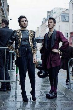stilettos on the street