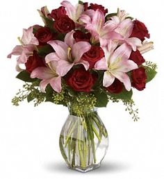 For my bouquet, only white lilies and in a bouquet form, because I think carrying a vase would be a little tacky ;)