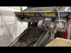Recycling-in-Action! Separating steel from granulated cable using one of our Permanent Overband Magnets #recycling Magnets, Recycling, Cable, Action, Steel, Cabo, Group Action, Upcycle, Electrical Cable