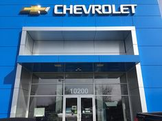 Heiser Chevrolet needed their address number visible from the street so we came out a day later. #chevrolet #channelletters #sign