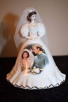 "Gone With the Wind Porcelain Scarlett O'Hara ""The Wedding Dress"" Bradford 2006 #10"