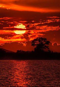 Sunset - Mesolonghi - Greece - by Chris K.