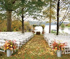 6 Stunning Places to Get Married in the Fall | BAZAAR Bridal ...