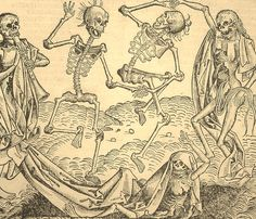 Danse Macabre from the Nuremberg Chronicle, 1493
