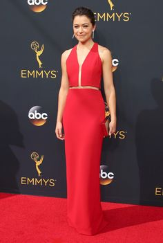 See what celebrities like Regina King, Rami Malek and Tatiana Maslany wore to…