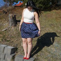 Snow whit and trusty skirt (chardon skirt from Deer and Doe) Skater Skirt, Deer, Short Dresses, Snow, Skirts, Women, Fashion, Moda, Short Gowns