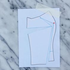 byhandlondon.com how to do a Full bust adjustment on a pattern