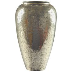Jean Dunand 1910s Metal Vase | From a unique collection of antique and modern vases and vessels at https://www.1stdibs.com/furniture/decorative-objects/vases-vessels/