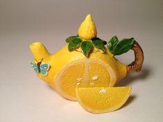 Little Lemon Teapot