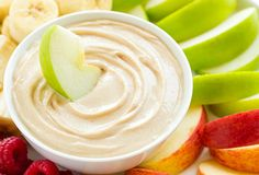 Beyond Cake Balls: 17 Healthy Baby Shower Snacks This Peanut Butter Fruit Dip is SO good. Snacks To Make, Healthy Snacks, Fruit Snacks, Fruit Dips, Fruit Fruit, Fruit Platters, Lunch Snacks, Fruit Cakes, Healthy Appetizers