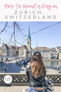 Planning a trip to Zurich, Switzerland? Here is our guide on how to spend the day in Zurich. What to do, where to eat, and the best views of the city! Lake Zurich, Tourist Map, Royal Caribbean Cruise, Travel Information, Travel Couple, Plan Your Trip, Historical Sites, Nice View, Switzerland