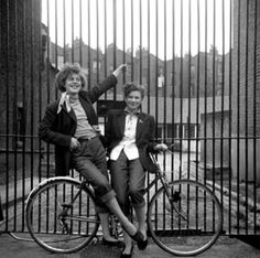 A collection of early photographs by film director Ken Russell.......... London..........These Lost London images were recently discovered by TopFoto after the agency bought up a job-lot of old archives.
