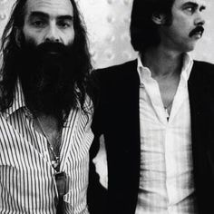 Nick Cave and Warren Ellis.