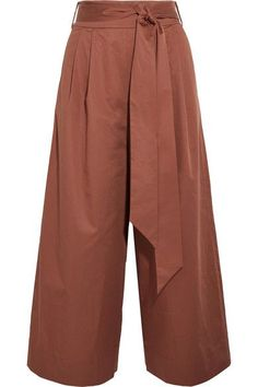 TIBI Cotton-poplin culottes - AVAILABLE HERE: http://rstyle.me/n/cn85ffbcukx