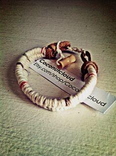 Guys & Girls natural beach bracelet  on Etsy, $10.00