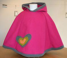 Children's Fleece Poncho by birdslovebees on Etsy, $22.00